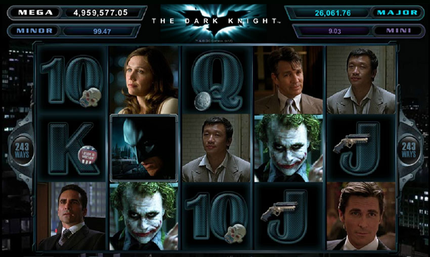 Arkham City Slots Dark Knight