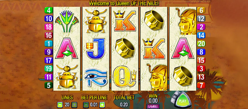 Queen-Of-The-Nile Slots