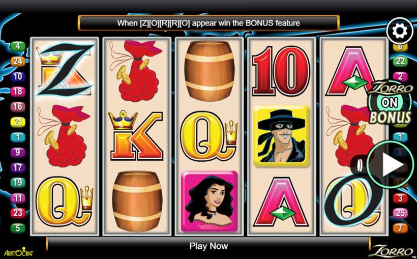 Zorro-Online-Slot